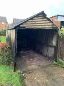 asbestos garage