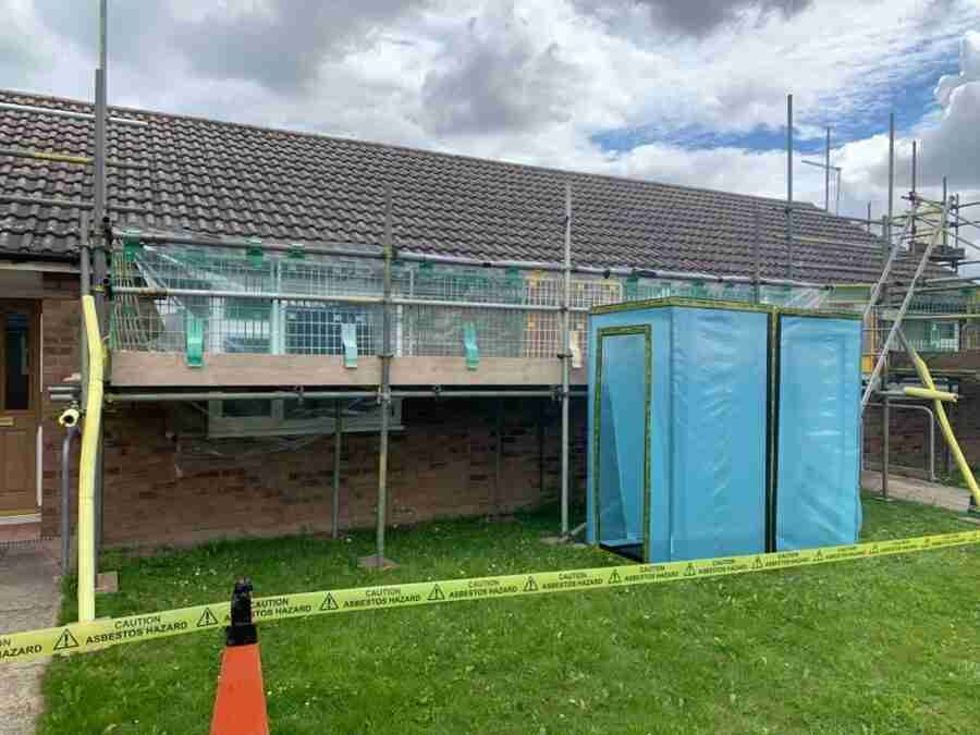 rotherham council asbestos removal