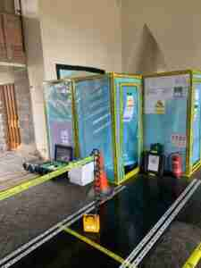 asbestos removal from church